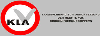 Logo des Klagsverband zur Durchsetzung der Rechte von Diskriminierungsopfern