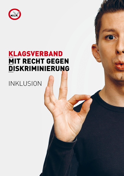Folder Mit Recht gegen Diskriminierung