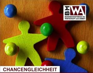"""Titelblatt Broschüre """"Chanchengleichheit"""""""