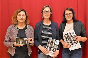 Auf dem Bild v.l.n.r.: Martina Gabriel, Daniela Almer, Sara Schaar