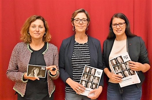 v.l.n.r.: Martina Gabriel, Daniela Almer, Sara Schaar