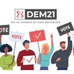 Logo der Initiative DEM21